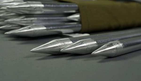 Кол алюминиевый для оборудование стартовых, финишных и транзитных зон